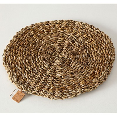 set de table fibre végétale